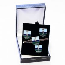 Royal Corps of Signals - Cufflinks, Tie Slide or Boxed Set from